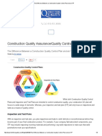 The Difference Between a Construction Quality Control Plan and an ITP