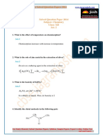 CBSE CBSE Class 12th Chemistry Question Paper Set I 2014 2