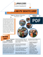 3rd Solar Pv Bootcamp Syllabus and Reg Form