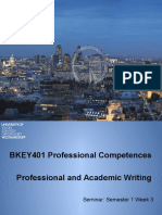 S1W3 Professional and Academic Writing 8 Oct 2015