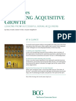 Unlocking Acquisitive Growth Sep 2014