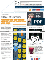 Grammar Yourdictionary Com Grammar Rules and Tips 11 Rules o