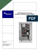 3D TRASAR Boiler Manual Ver 4.2 11-10-10