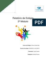 Relatório de Estágio Fisioterapia