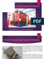 Power Isolation Transformers India