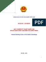 QCVN 06-2010 BXD_Quy Chuẩn Quốc Gia Về an Toàn Cháy Cho Nhà Và Công Trình