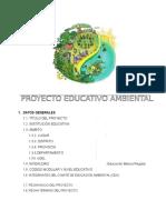 PROYECTO EDUCATIVO AMBIENTAL 2016  (modelo)