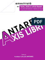 Revista Antares - Axis Libri, Nr. 7