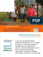 16 Days of Activism Power Point Presentation 2015