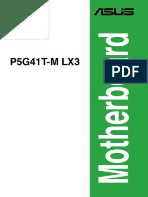asus p5g41t-m lx3 driver cd