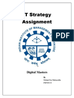 IT Strategy - Digital Masters