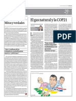El Gas Natural y la COP21