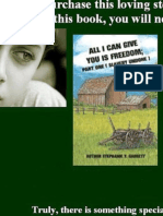 (FREE READ) ALL I CAN GIVE YOU IS FREEDOM ( SLAVERY UNDONE)
