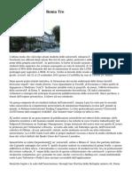 Rettore Università Roma Tre