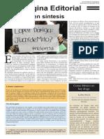 Modelo de página editorial Bis