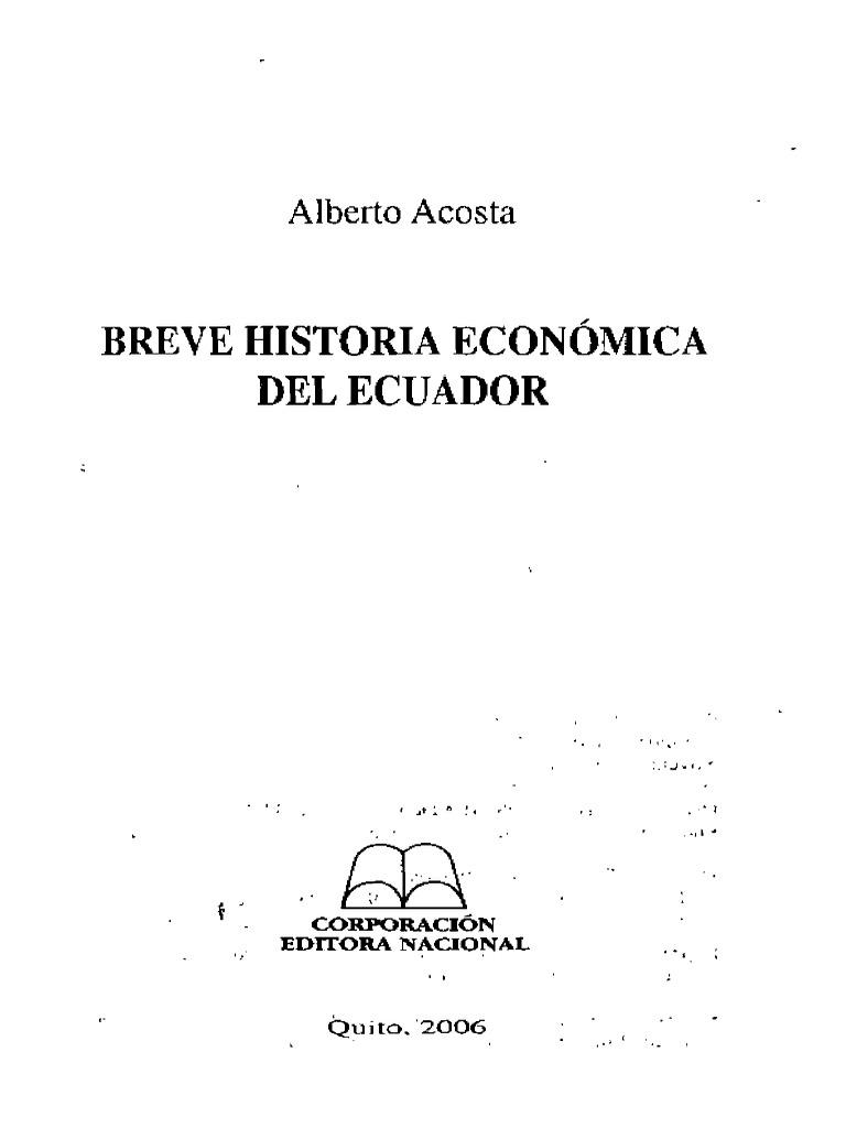 Breve Historia Económica del Ecuador 9e95fc637b