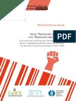 De La Revolución Socialista a La Revolución Democrática