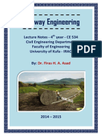 Lec 00 Highway Engineering - Opening and Syllabus