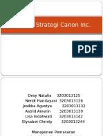 Analisis Strategi Canon Inc