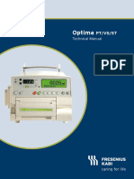 Fresenius Kabi - Optima PT-Vs-ST (Technical Manual)
