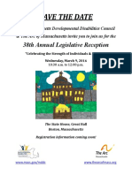Save the Date - Leg Reception 2016