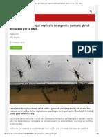 Virus Zika_ Qué Es y Qué Implica La Emergencia Sanitaria Global Declarada Por La OMS - BBC Mundo