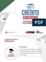 Presentacion Credito Educativo v1 Pronabec