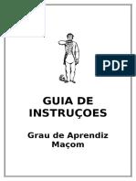 Guia de Instruções a.'.M.'.
