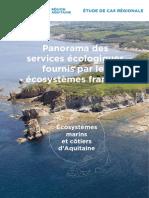 Panorama des services écologiques fournis par les écosystèmes français | Ecosystèmes marins et côtiers d'Aquitaine
