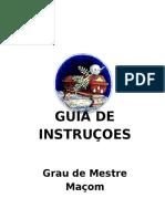 Guia de Instruções M.'.M.'.