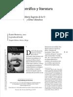 Narcotráfico y Literatura. Maria Eugenia de La O y Elmer M