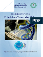 Apostila SC Principles of Molecular Biology