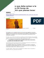 BBC MUNDO - El Hombre Que Debe Avisar a La Policía Con 24 Horas de Anticipación Que Planea Tener Sexo - 26 01 16