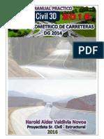 Tutorial Diseño Geometrico de Carreteras Con Autocad Civil 3D 2016 - DG 2014