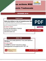 Agenda MSE Février 2016
