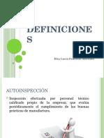 Definiciones BPMs