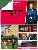 Bilan annuel de mandat de Régis Juanico pour l'année 2015