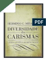 Diversidade Dos Carismas- Herminio c.miranda (Tomos 1 e 2) (1)