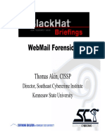 Web Mail Forensik