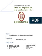 EMABALAJE DE PRODUCTOS AGROINDUSTRIALES