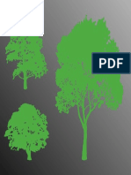 FreeVector Trees Silhouette Graphics