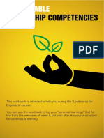 Sustainable Leadership Competencies