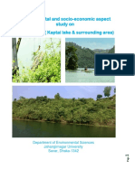 Environmental and socio-economic aspect  study on  Rangamati ( Kaptai lake & surrounding area)