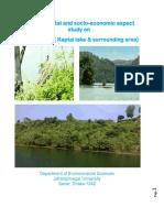Environmental and socio-economic aspect  study on  Rangamati ( Kaptai lake & surrounding area)