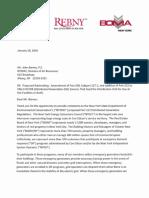 demand response letter