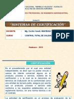 Sistemas de Certificación