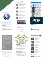 instructional design services brochure 12516
