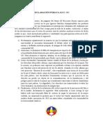 Declaración Pública JJCC Aborto y Carta al Director del Rector UC