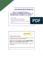 macroeconomía El PIB y las variables macro