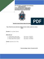 Proyecto Final de Estructuras de Acero, UNAN-Managua, Ingeniería Civil